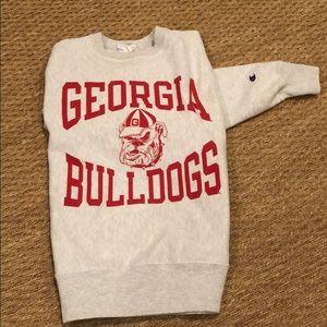 SZ LG Univ of Georgia sweatshirt